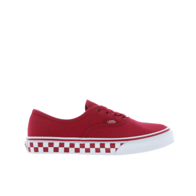 Vans Authentic Checkerboard Red VN0A38H3S3J