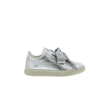 "Puma Basket Heart ""Metallic Pack"" Silver 366036 02"
