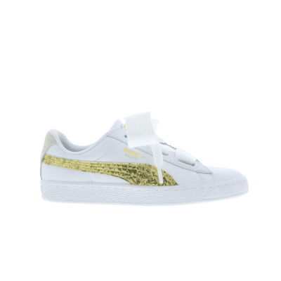 Puma Basket Heart Glitter White 364078 01