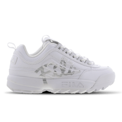 Fila Disruptor II Script Distressed White 5FM00403-103