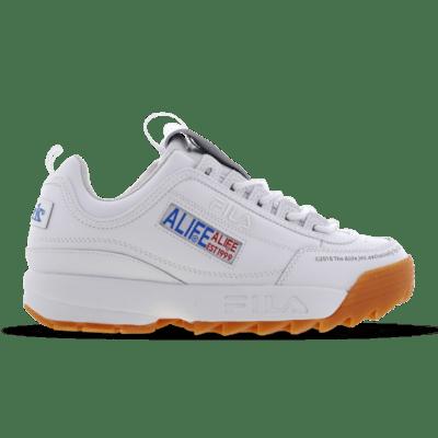 Fila X Alife Disruptor II Premium White 1FM00440-138