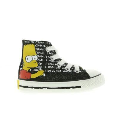 Converse Chuck Taylor All Star High Simpsons Black 741390C