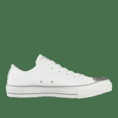 Converse Chuck Taylor All Star Ox Toecap Sparkle White 545059C
