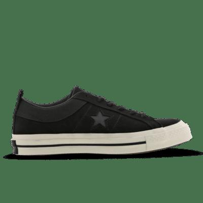 Converse One Star Vintage Black 162545C