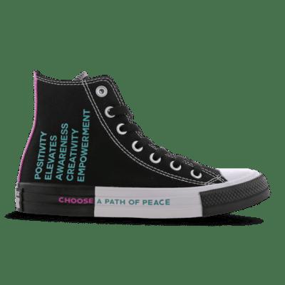 Converse Chuck Taylor All Star Seek Peace High Black 266537C
