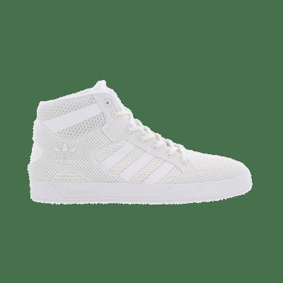 """adidas Hardcourt """"Knit"""" White CG3143"""