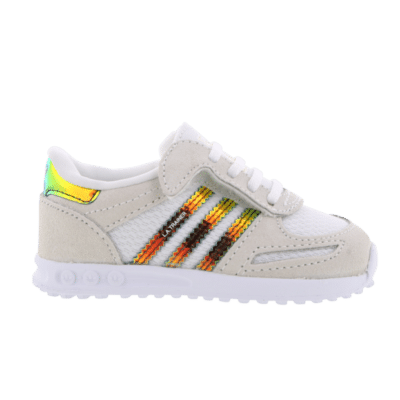 "adidas La Trainer ""Gold Iridescent"" White CP9836"
