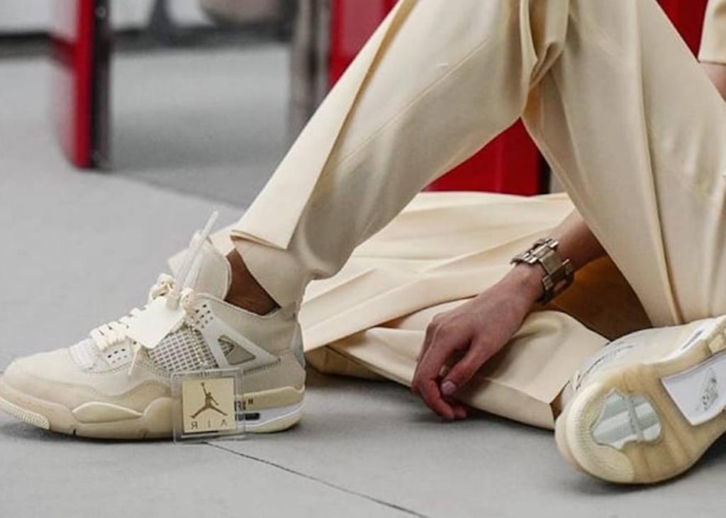 """Releasedatum voor de Air Jordan 4 Sail in samenwerking met """"Off-White"""""""