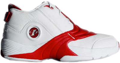 Reebok Answer V White Red V44403