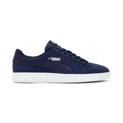 Puma Smash v2 Buck sneakers voor Heren Blauw / Wit / Zilver 365160_15