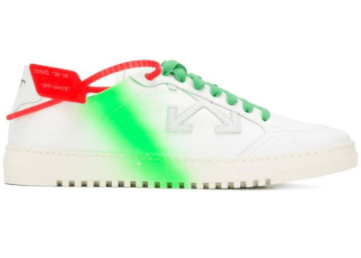 Off-White 2.0 Low Top Green Spray OMIA042S20D680430140