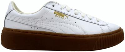 Puma Basket Platform Core Puma White  (W) 364040-01