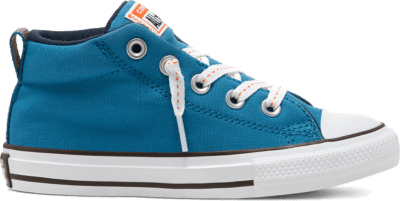 Converse Summer Canvas Chuck Taylor All Star Street Instapper voor kids Egyptian Blue/Bold Mandarin 667540C