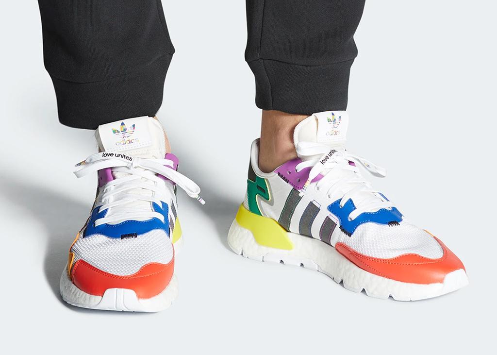 Om trots op te zijn: de adidas Nite Jogger 'Pride 2020'