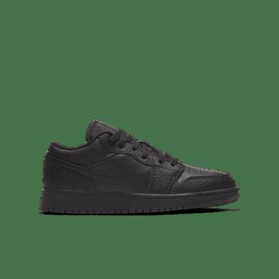 Jordan 1 Low Black 553560-091