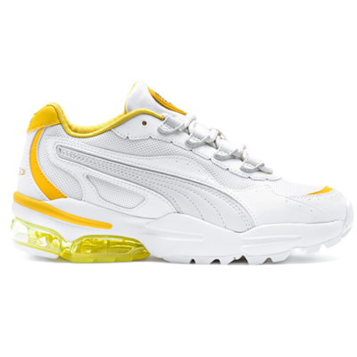 Puma – Cell Stellar – Sneakers in wit en geel Wit 37095004