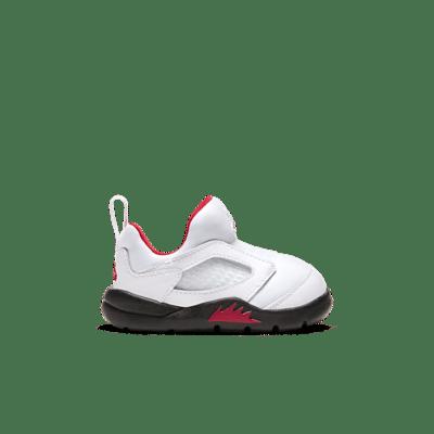 Jordan 5 Retro Little Flex White Black University Red (TD) CK1228-100