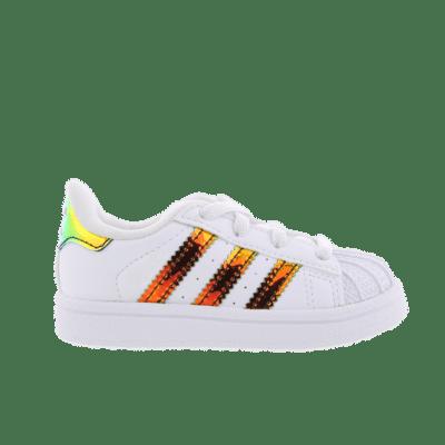 "adidas Superstar ""Gold Iridescent"" White CP9840"