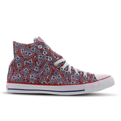Converse Chuck Taylor All Star High Red 166828C
