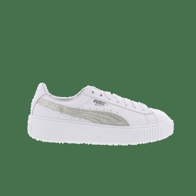 Puma Basket Platform Diamond Crush White 365064 01