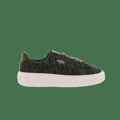 Puma Suede Platform Core Green 364092 01
