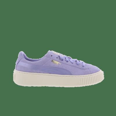 Puma Suede Platform Satin Purple 365828 01