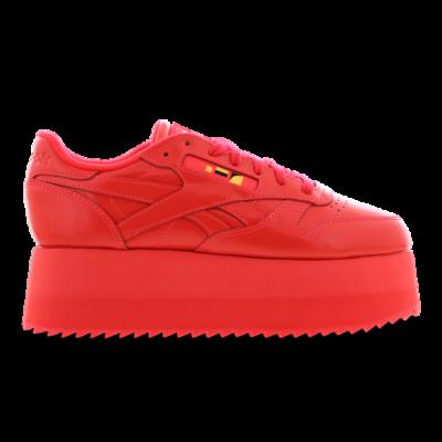 Reebok X Gigi Hadid Classic Leather Triple Platform Red DV5389