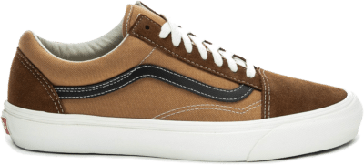 Vans OG Old Skool Vault LX *Suede / Canvas* brown VN0A38FWVZ11