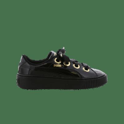 Puma Kiss Basket Patent Black 366012 02