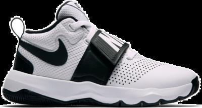 Nike Team Hustle D 8 White Black (GS) 881941-100