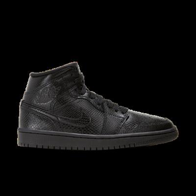 Jordan 1 Mid Black BQ6472-010