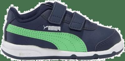 Puma Stepfleex 2 SL VE V sportschoenen Blauw / Groen / Wit 192523_17