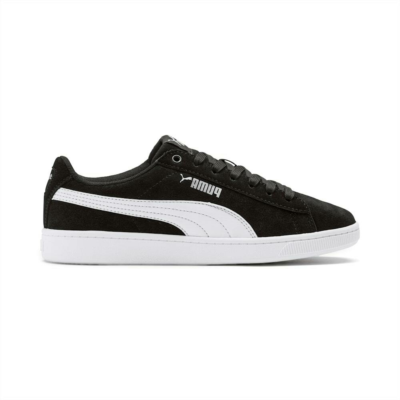 Puma Vikky v2 SD sportschoenen Zilver / Zwart / Wit 370510_01