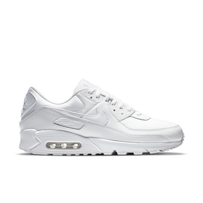 Nike Air Max 90 Leather Triple White (2020) CZ5594-100