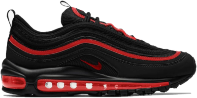 Nike Air Max 97 Black Chile Red (GS) 921522-023