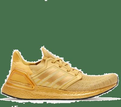 adidas Ultraboost 20 Gold Metallic EG1343