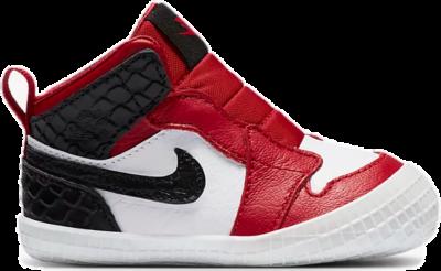 Jordan 1 Crib Bootie Red AT3745-601
