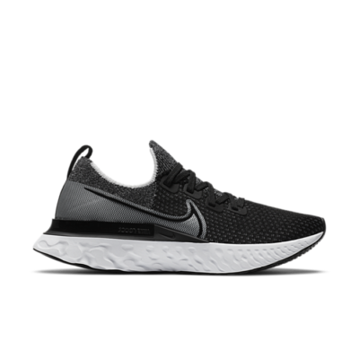 Nike React Infinity Run Flyknit Black White CD4371-012