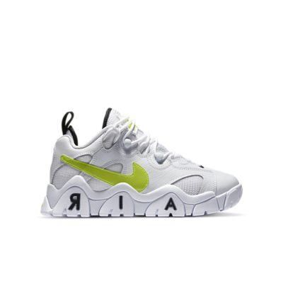 Nike Air Barrage Low White Black Volt (GS) CK4355-103