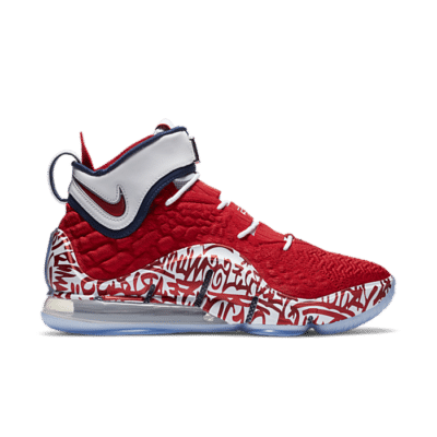 "Nike Lebron 17 ""Fire Red"" CT6047-600"