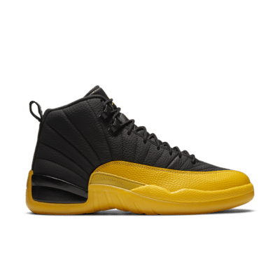 Air Jordan 12 'University Gold' Black/Black/University Gold 130690-070
