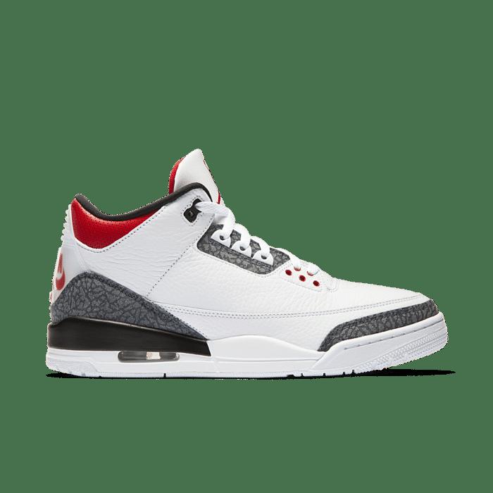 Air Jordan 3 'Denim' White/Black/Fire Red CZ6431-100
