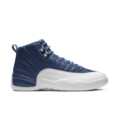 Air Jordan 12 'Indigo' Stone Blue/Obsidian/Legend Blue 130690-404