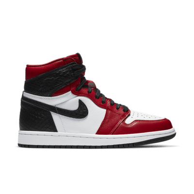 Women's Air Jordan 1 High OG 'Satin Red' Gym Red/White/Black CD0461-601