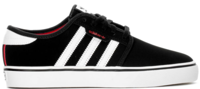 adidas Seeley Black White Scarlet (Youth) BY4078