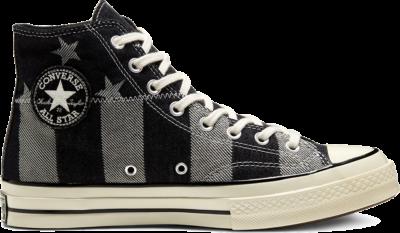 Converse CHUCK 70 HI ZWART/WIT/EGRET Black/ White 167709C
