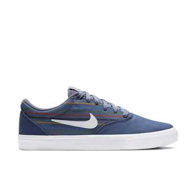 Nike SB Charge Canvas Premium Blauw CV6481-400