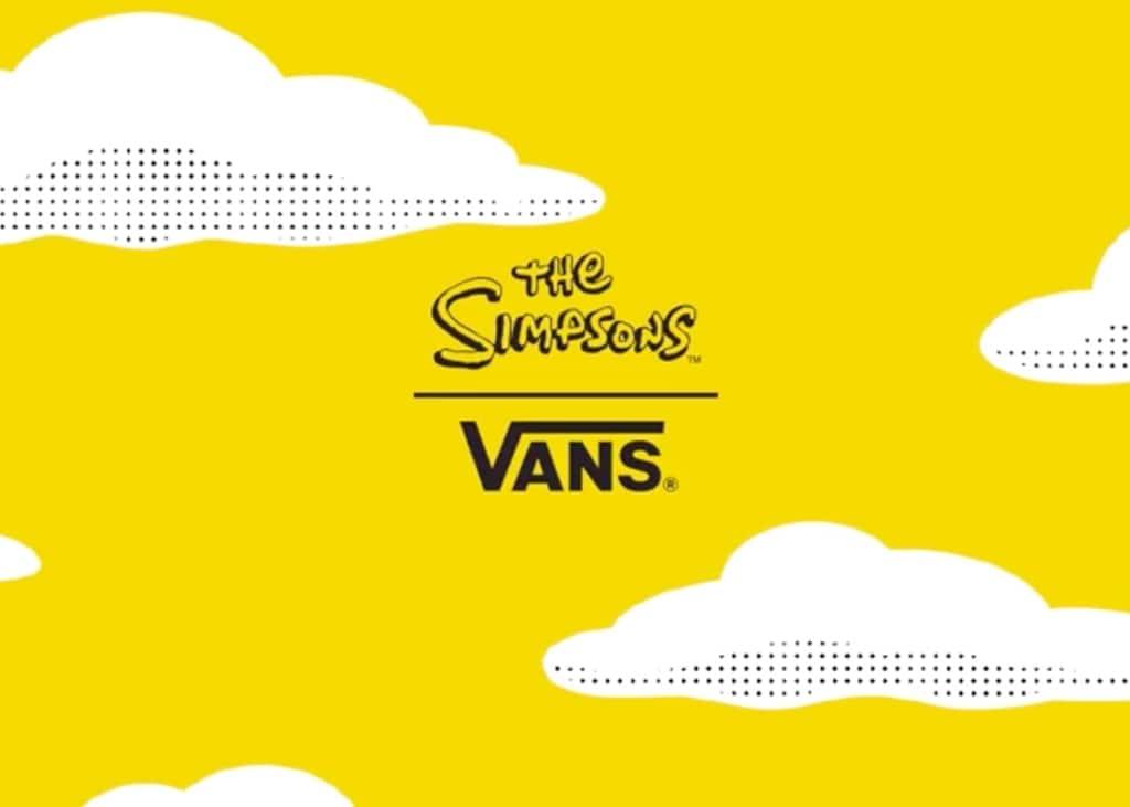 VANS kondigt een samenwerking aan met 'the Simpsons'