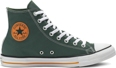 Converse Chuck Taylor All Star Summer Sport High Top Fir/Orange Rind/White 164412C