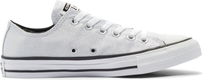 Converse Industrial Glam Chuck Taylor All Star Low Top voor dames Silver/ Black 568588C